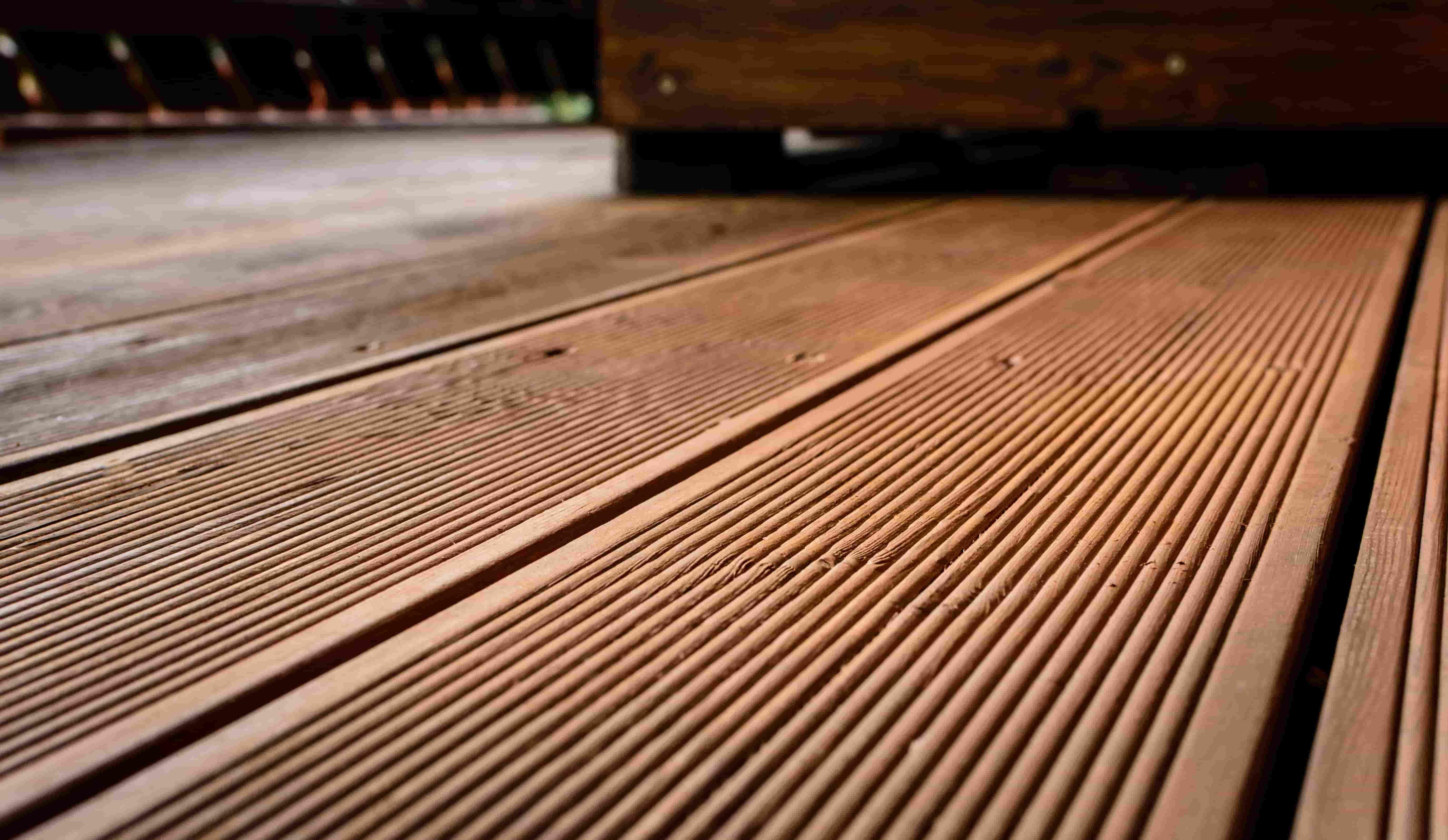 Aussenterrasse aus Holz